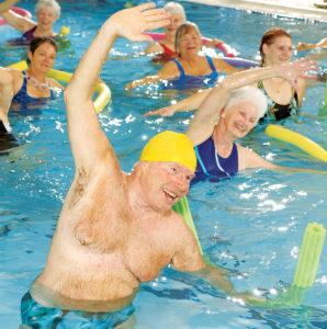 Aqua Dance high intensity water fitness