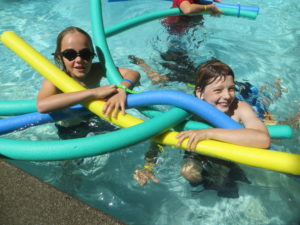 Camp Dudley pool