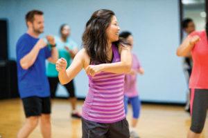 Yakima Family YMCA Zumba group fitness class lesson